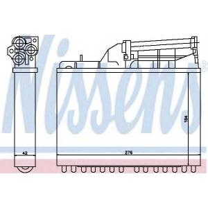 NISSENS 70502 Печка  B10(E34)3.0 i(+)[OE 1.384.725]