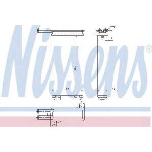 �������������, ��������� ������ 71755 nissens - FORD SIERRA ��������� ������ ����� (GBC, GBG) ��������� ������ ����� 2.0 RS Cosworth