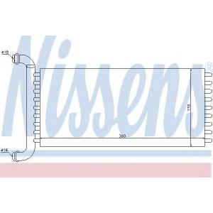 Теплообменник, отопление салона 72037 nissens - MERCEDES-BENZ VITO / MIXTO фургон (W639) фургон 110 CDI