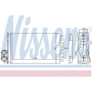 NISSENS 72935 Печка PT 405(87-)1.4(+)[OE 6448.58]