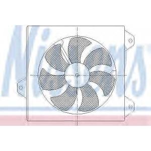 NISSENS 85099 Fan