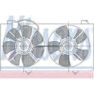 NISSENS 85529 Fan