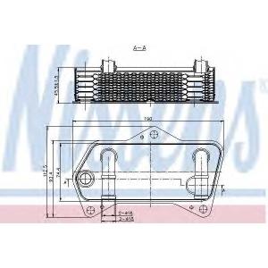 NISSENS 90653 Радіатор масляний