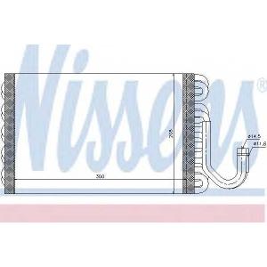 NISSENS 92260 Испаритель, кондиционер