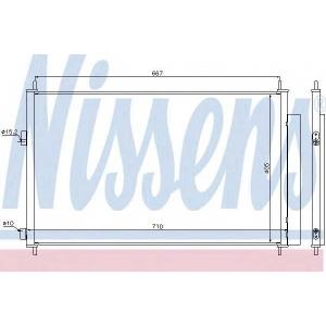 �����������, ����������� 940021 nissens - TOYOTA RAV 4 III (ACA3_, ACE_, ALA3_, GSA3_, ZSA3_) �������� �������� 2.0 VVT-i