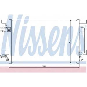 NISSENS 940029 Радиатор кондиционера
