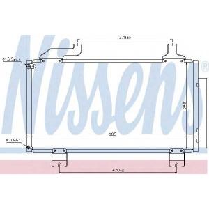�����������, ����������� 940114 nissens - HONDA ACCORD IX (CU) ����� 2.0 i