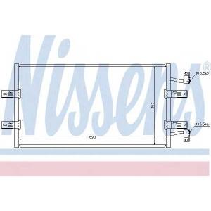NISSENS 940119 Радиатор кондиционера