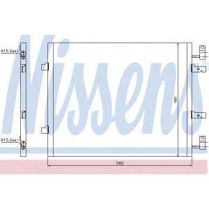NISSENS 940147 Конденсер кондиціонера