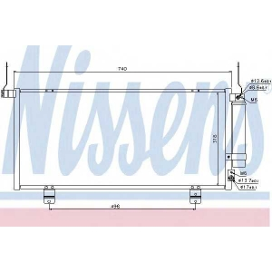 �����������, ����������� 940164 nissens - MITSUBISHI GALANT ����� (DJ_, ED_, EF_) ����� 2.4 GDi Sport (DJ1A)