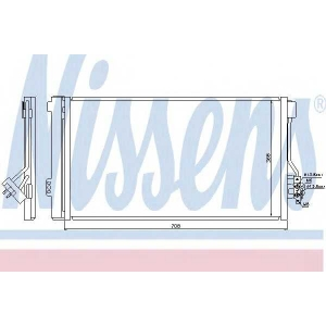 Конденсатор, кондиционер 940178 nissens - MERCEDES-BENZ VITO / MIXTO фургон (W639) фургон 110 CDI