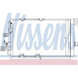 Конденсатор, кондиционер 94650 nissens - OPEL ASTRA G Наклонная задняя часть (F48_, F08_) Наклонная задняя часть 1.6 16V