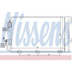 Конденсатор, кондиционер 94767 nissens - OPEL ASTRA H универсал универсал 1.6 LPG