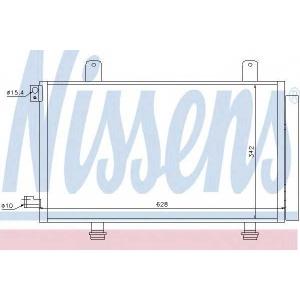 Конденсатор, кондиционер 94979 nissens - FIAT SEDICI вездеход закрытый 1.6 16V