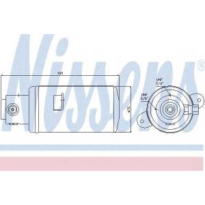 ���������, ����������� 95076 nissens - MERCEDES-BENZ S-CLASS (W140) ����� S 350 Turbo-D (140.134)