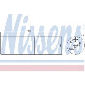 Осушитель, кондиционер 95231 nissens - MERCEDES-BENZ S-CLASS (W220) седан S 320 (220.065, 220.165)