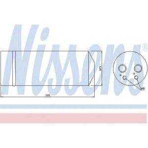 Осушитель, кондиционер 95314 nissens - FORD COURIER пикап пикап 1.6