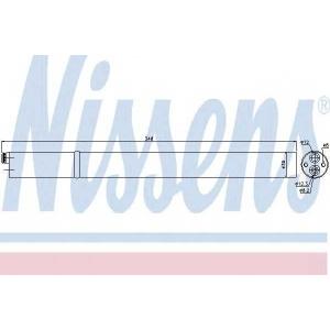 Осушитель, кондиционер 95366 nissens - SEAT LEON (1P1) Наклонная задняя часть 1.6 TDI