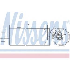 Осушитель, кондиционер 95436 nissens - RENAULT MEGANE II универсал (KM0/1_) универсал 1.9 dCi