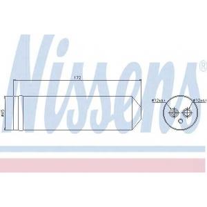 Осушитель, кондиционер 95440 nissens - MAZDA 5 (CW) вэн 2.0