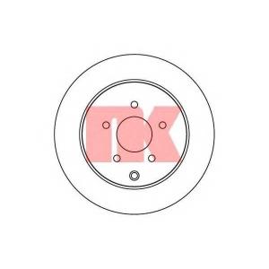 Тормозной диск 202271 nk - NISSAN MURANO (Z51) вездеход закрытый 2.5 4x4