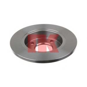 Тормозной диск 202543 nk - FORD FIESTA III (GFJ) Наклонная задняя часть 1.8 D
