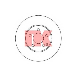 Тормозной диск 2033100 nk - MERCEDES-BENZ C CLASS (W204) седан C 250 CDI 4-matic (204.082)