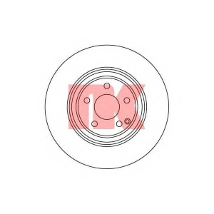 Тормозной диск 203351 nk - MERCEDES-BENZ S-CLASS (W220) седан S 430 (220.070, 220.170)
