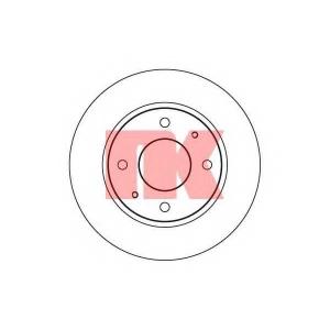 Тормозной диск 203403 nk - HYUNDAI SONATA II (Y-2) седан 2.0 i