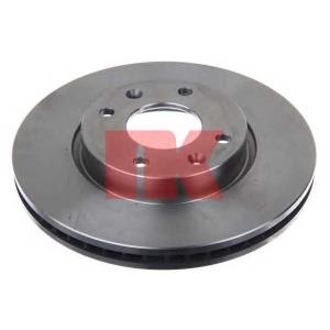 Тормозной диск 203420 nk - HYUNDAI ELANTRA (XD) Наклонная задняя часть 2.0