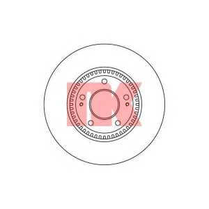 Тормозной диск 203422 nk - HYUNDAI SONATA V (NF) седан 2.4