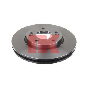 Тормозной диск 203526 nk - HYUNDAI ix20 (JC) Наклонная задняя часть 1.4