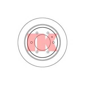 203635 nk Тормозной диск OPEL FRONTERA вездеход закрытый 2.3 TD (5JMWL4)
