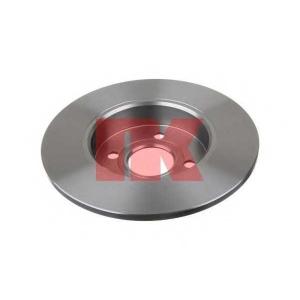 Тормозной диск 203655 nk - OPEL MERIVA вэн 1.7 DTI