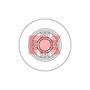 NK 203937 Диск гальмівний