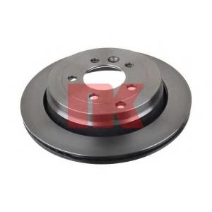 Тормозной диск 204028 nk - LAND ROVER DISCOVERY III (TAA) вездеход закрытый 4.0 4x4