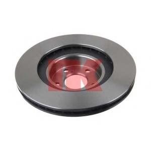 Тормозной диск 204412 nk - SUBARU FORESTER (SH) вездеход закрытый 2.5