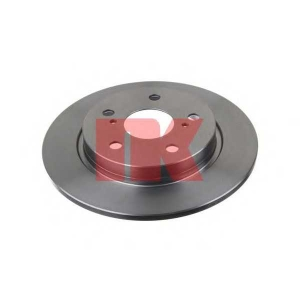 Тормозной диск 2045123 nk - TOYOTA AURIS (ZZE15_, ADE15_, ZRE15_, NDE15_) Наклонная задняя часть 1.8
