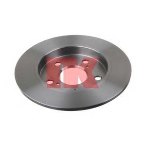 2045124 nk Тормозной диск TOYOTA AURIS Наклонная задняя часть 1.6 VVTi