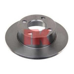 Тормозной диск 204723 nk - AUDI 80 (89, 89Q, 8A, B3) седан 1.8