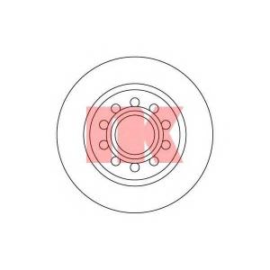 NK 204781 Диск тормозной