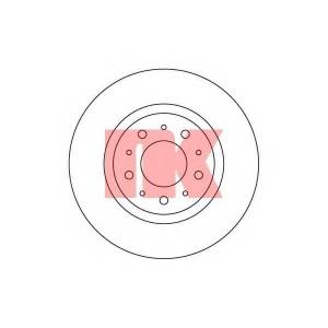 Тормозной диск 204832 nk - VOLVO S70 (P80_) седан 2.0