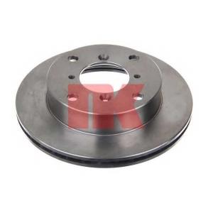 Тормозной диск 205205 nk - SUZUKI SWIFT I (AA) Наклонная задняя часть 1.3 GTi/GXi (SA413, AA33)