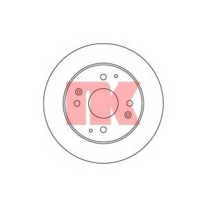 Тормозной диск 209939 nk - ROVER 600 (RH) седан 620 i