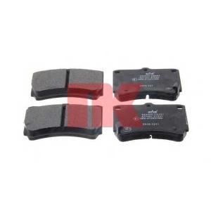 NK 223220 Тормозные колодки передние (15.0mm) Mazda323(BG)1.4i,1.6i16V,1.7D,1.9i16V 89-94