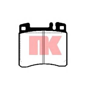 NK 223324 NK223324 Гальмівні колодки NK (шт.)