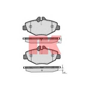 NK 223346 Тормозные колодки  E-Kl. ab 3/02