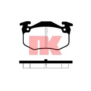 Комплект тормозных колодок, дисковый тормоз 223930 nk - RENAULT SAFRANE I (B54_) Наклонная задняя часть 3.0 V6 4x4 (B54B, B544)