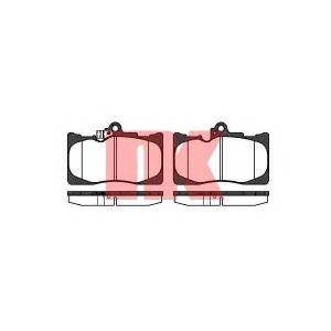 Комплект тормозных колодок, дисковый тормоз 224573 nk - LEXUS GS (GRS19_, UZS19_, GWS19_) седан 450 h (GWS191)