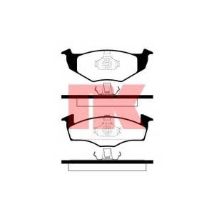 NK 224737 Колодки гальмівні дискові